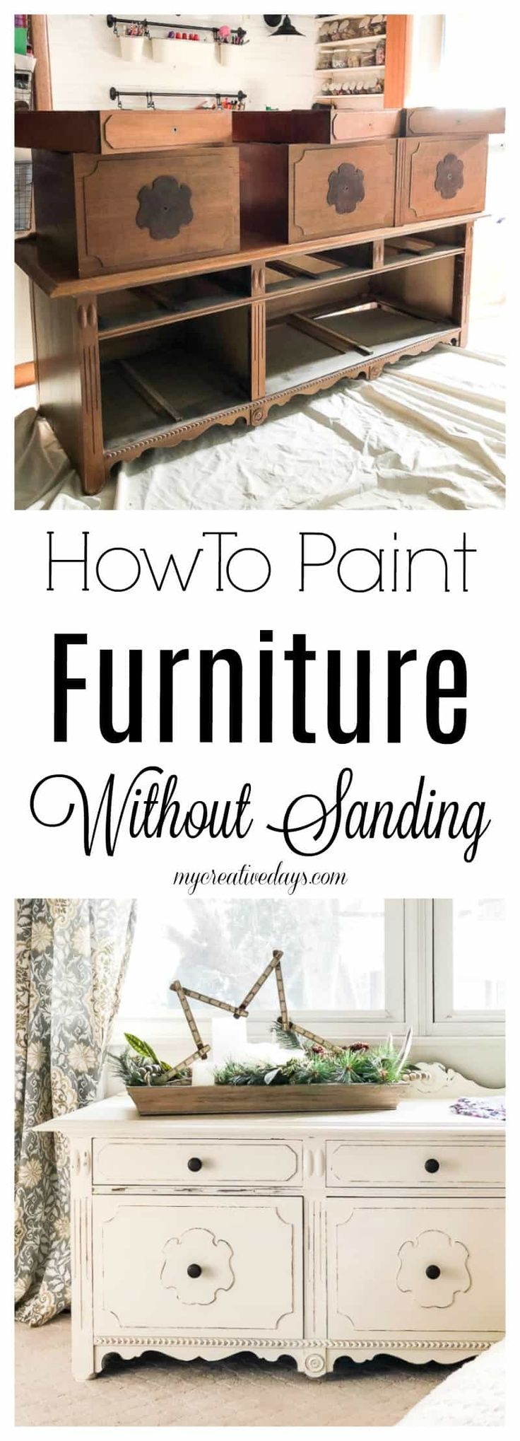 How To Paint Furniture Without Sanding 476