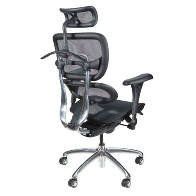 All Mesh Ergonomic Computer Chair with Built-in Coat Hanger