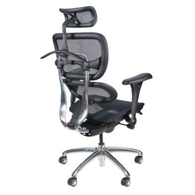 All Mesh Ergonomic Computer Chair with Built-in Coat Hanger