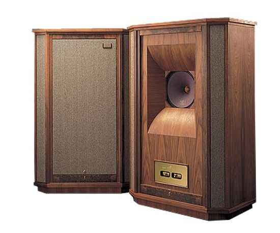 Tannoy 'Westminsters' - About the size of a small house and costing marginally more. A no-compromise, flagship product from the world's oldest loudspeaker manufacturer. Absolutely breathtaking to witness. Referenced in my 'Interior Design' board under 'Milo Baughman : Leather and Steel Lounge Chairs'...K