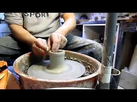 COME SI REALIZZA UNA TAZZA DA THE IN CERAMICA (HOW TO MAKE A CERAMIC CUP OF TEA) - YouTube