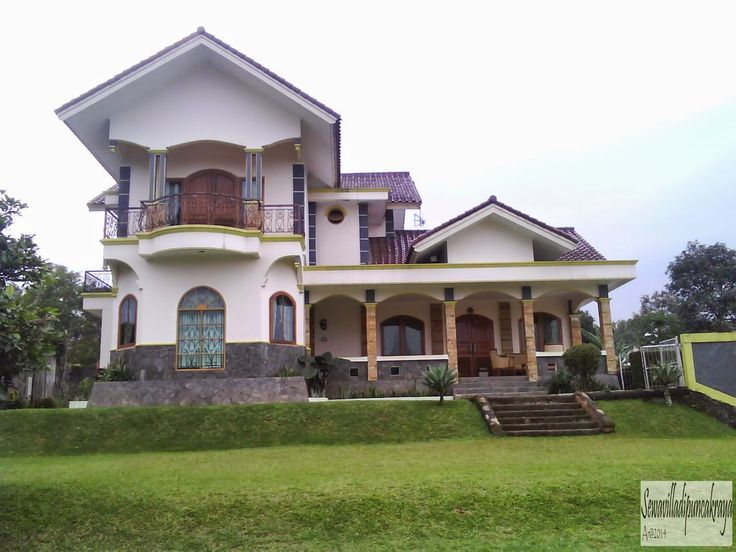 Villa dipuncak terawat dan bersih ada kolam renang - VILLA 0007