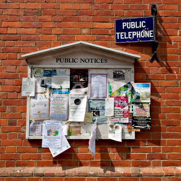 village notice board - Google Search