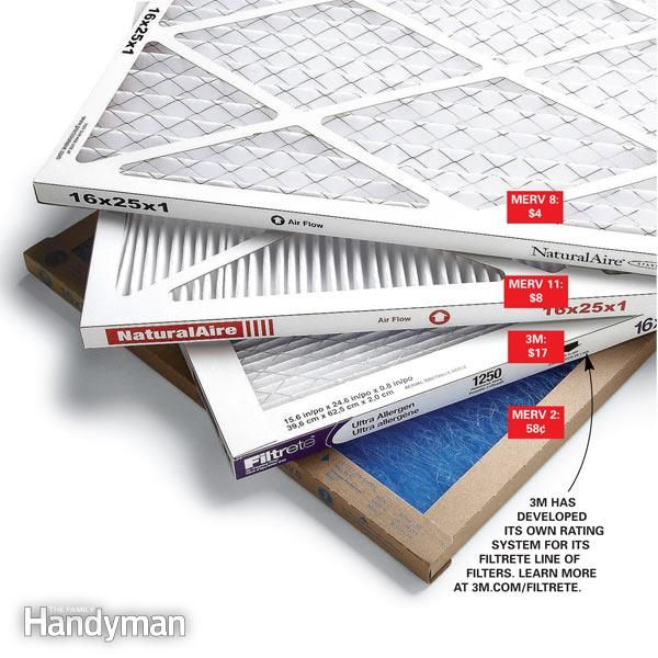 a high-efficiency furnace filter can slow airflow too much, but low-efficiency filters don
