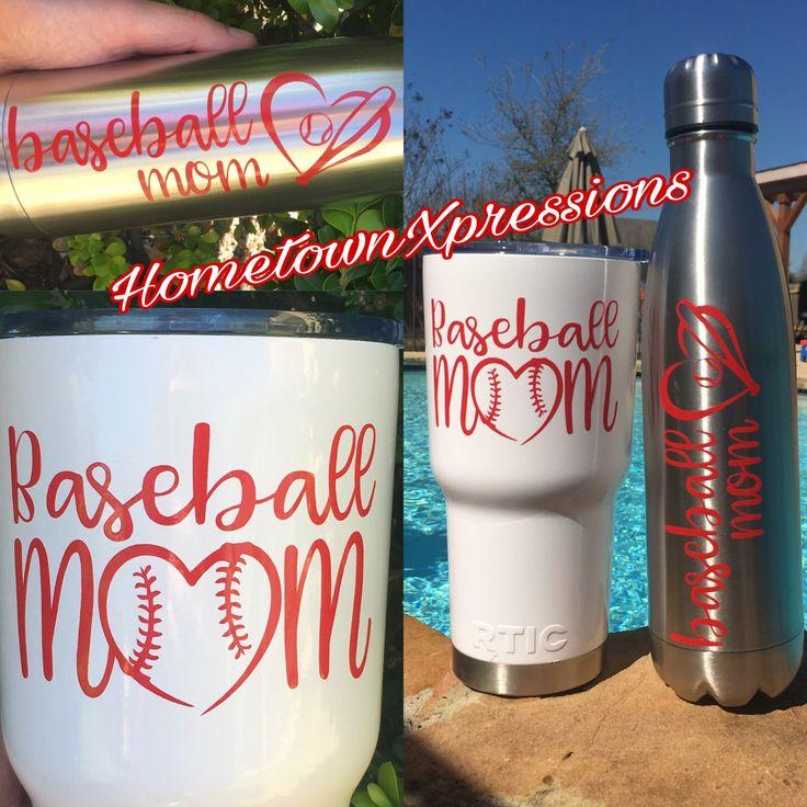 Baseball mom decal ⚾️
