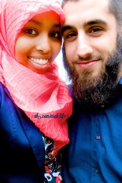 Masha 'Allah cute #Muslim #interracial couple
