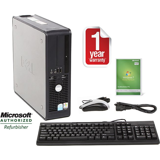 Dell OptiPlex 755 SFF Core 2 Duo 3.0GHz Home Premium SFF Computer