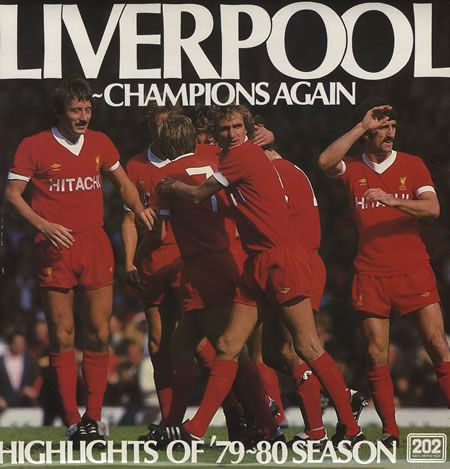 For Sale - Liverpool FC Champions Again - Highlights Of The 1979/80 Season UK  vinyl LP album (LP record) - See this and 250,000 other rare & vintage vinyl records, singles, LPs & CDs at http://eil.com