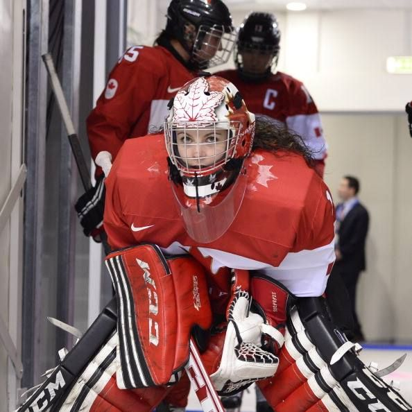 Shannon Szabados Team Canada  ....from CBC Olympics