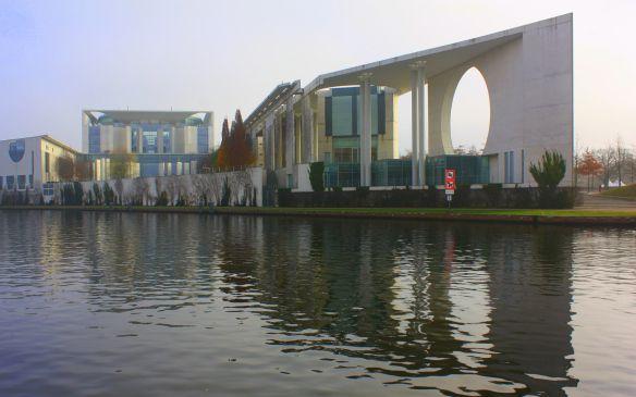 Bundeskanzleramt Berlin, 1995-2001, Axel Schultes