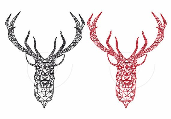 ... Patterns, Reindeer Tattoos, Antler Tattoo, Deer Design, Triangle
