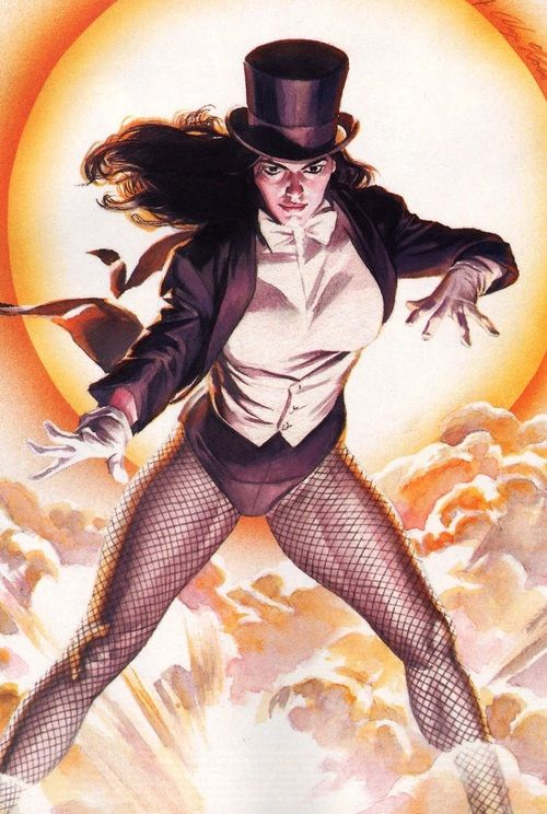 Zatanna by Alex Ross