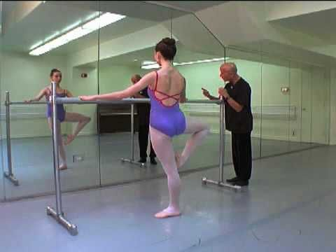 Her lines are perfect. Can't wait to try! | The Finis Jhung Ballet Technique All Levels: Stretch, Turnout, & Extension