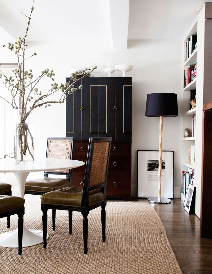Room of the week casual chic in a designers apartment