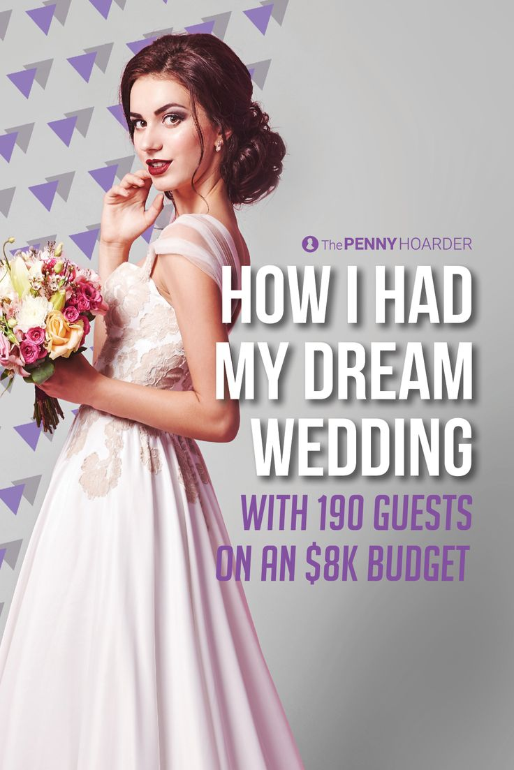 How I Had My Dream Wedding With 190 Guests On An 8k Budget