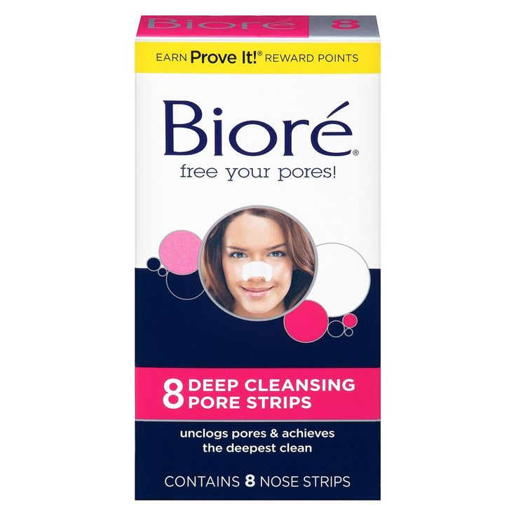 Biore Deep Cleansing Nose Strips – 8ct