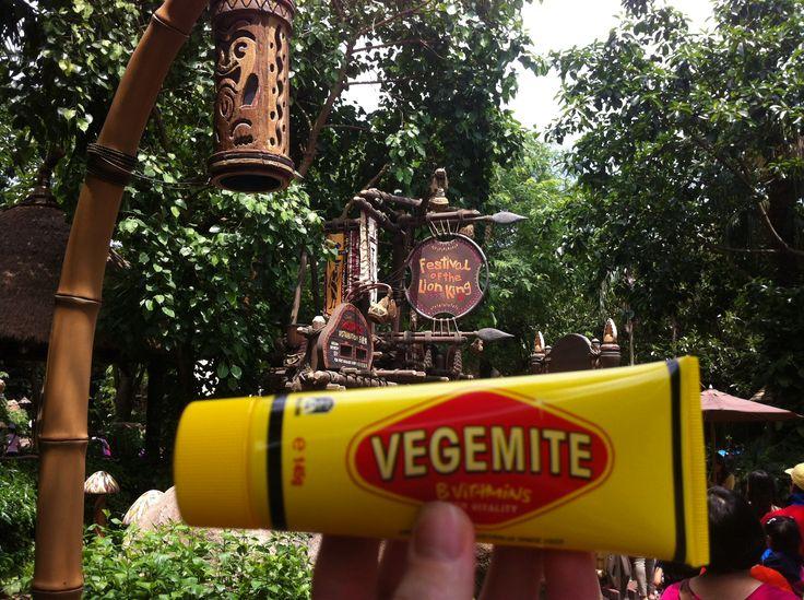 Vegemite On Tour in Disneyland Hong Kong