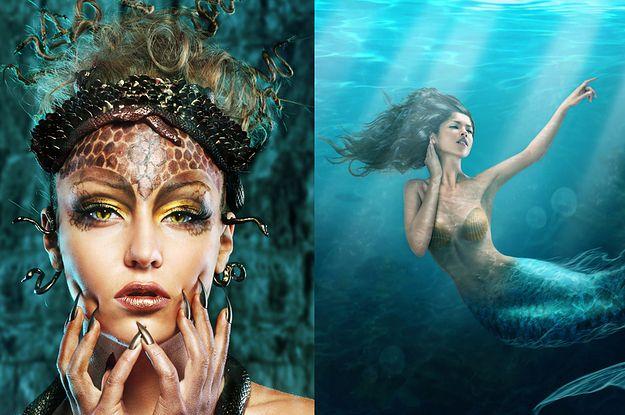 Todos los mejores monstruos mitológicos son mujeres malvadas.