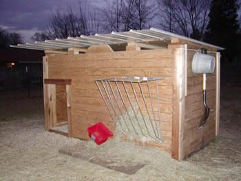 Goat Housing Ideas http://www.madisonsmeadow.com/MMbarnyard.htm