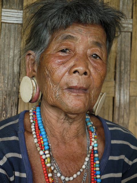 Attapeu, Laos. Brao Woman