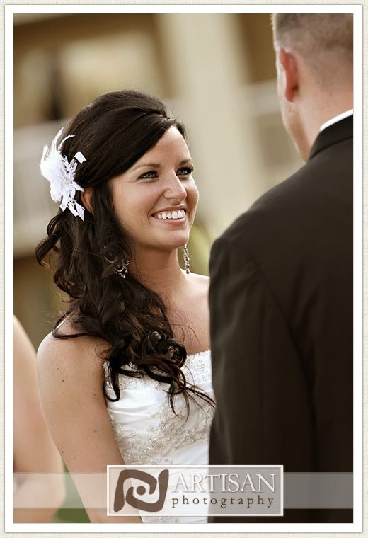 Wedding day hair inspiration. Credit: Artisan Photography