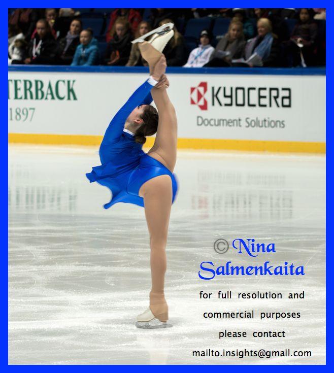 Julia Lipnitskaja RUS at Finlandia Trophy October 2015