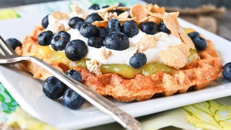 Blogger Brooke McLay from Cheeky Kitchen shows you how to sneak multigrain goodness into your dessert with these sugared Belgian waffles. They're easy yet elegant!