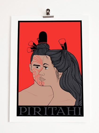 2013 Artwork Series: Piritahi (Artist B. Waipuka, NZ)