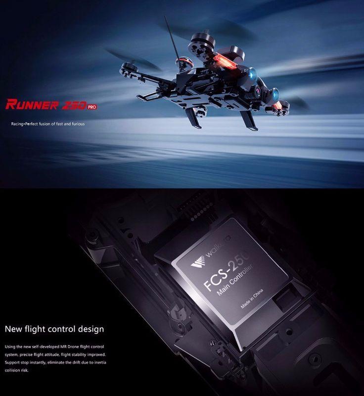 Walkera Runner 250 PRO GPS Racer Drone RC Quadcopter 1080P HD Camera OSD DEVO 7 Transmtter FPV Racing Drone | E-BAYZON