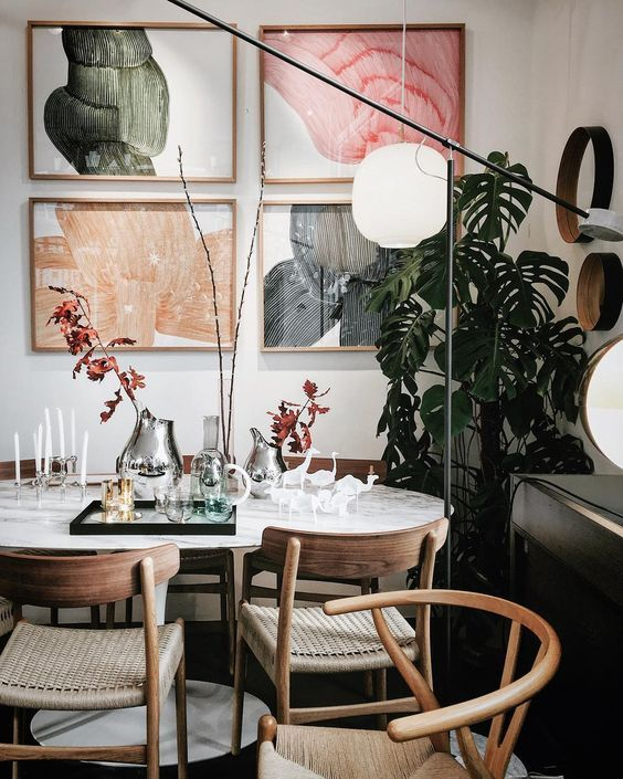 8 Artsy rooms that will get you started in redecorating your home in February - Daily Dream Decor