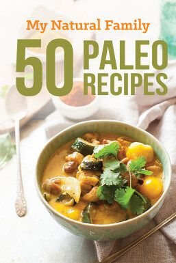 50 Paleo Recipes eBook from My Natural Family