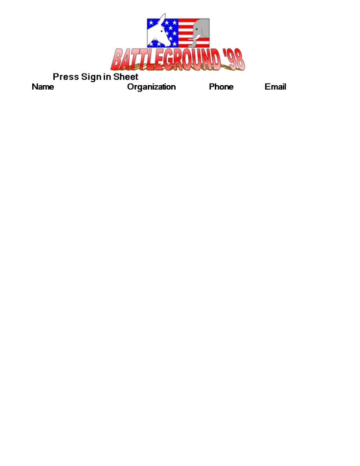 Press Sign in Sheet Format - Download this Press Sign in Sheet - sign in sheet templates