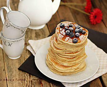 Banana pancakes - senza zucchero - con inclusa la video ricetta