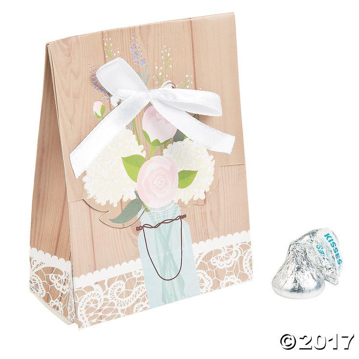 Rustic Wedding Goody Bags - OrientalTrading.com