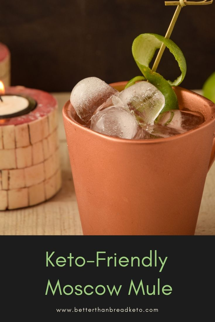 Keto-Friendly Moscow Mule | Recipe in 2019 | Keto/Low-Carb