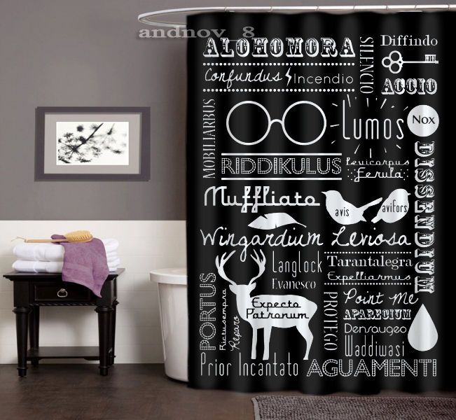 Hot Bathroom Colors 2017: Best 25+ Harry Potter Shower Curtain Ideas On Pinterest