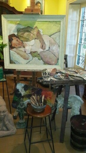 Irma stern's studio