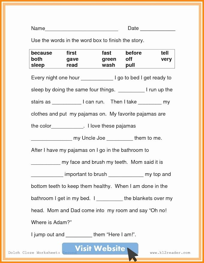 Activities For Babies Free Printables 2nd Grade Math Worksheets Reading Comprehension Worksheets 2nd Grade Reading Worksheets Free second grade reading worksheets