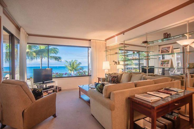 Sands of Kahana: Maui Ocean Front Vacation Rental: Maui Hawaii Condo Rentals #sandsofkahana #vacationmaui #maui #hawaii #paradise #beautiful #ocean www.vacation-maui.com