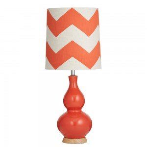 Red Billie Table Lamp