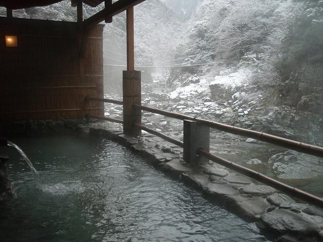 Open air bath...  where is this!?! [ MexicanConnexionforTile.com ] #bathroom #Talavera #Mexican