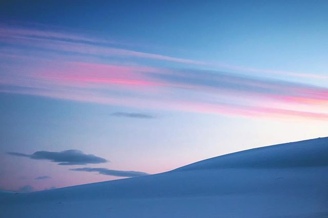 Blue moment in Halti, wilderness area, lapland, Finland. Photo by Sampo Kiviniemi