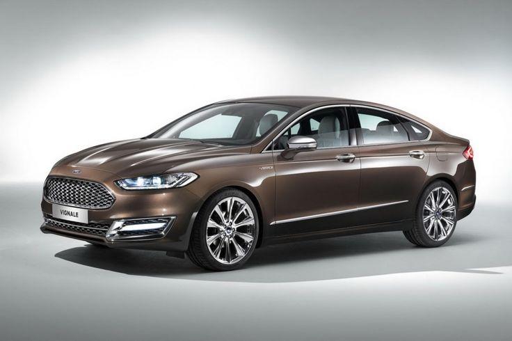 Ford Mondeo Vignale Concept : Une nouvelle griffe haut de gamme