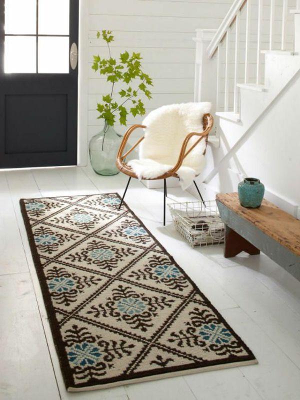 Best Teppich im Flur Sch ne Interieur Vorschl ge f r Ihren Eingangsbereich
