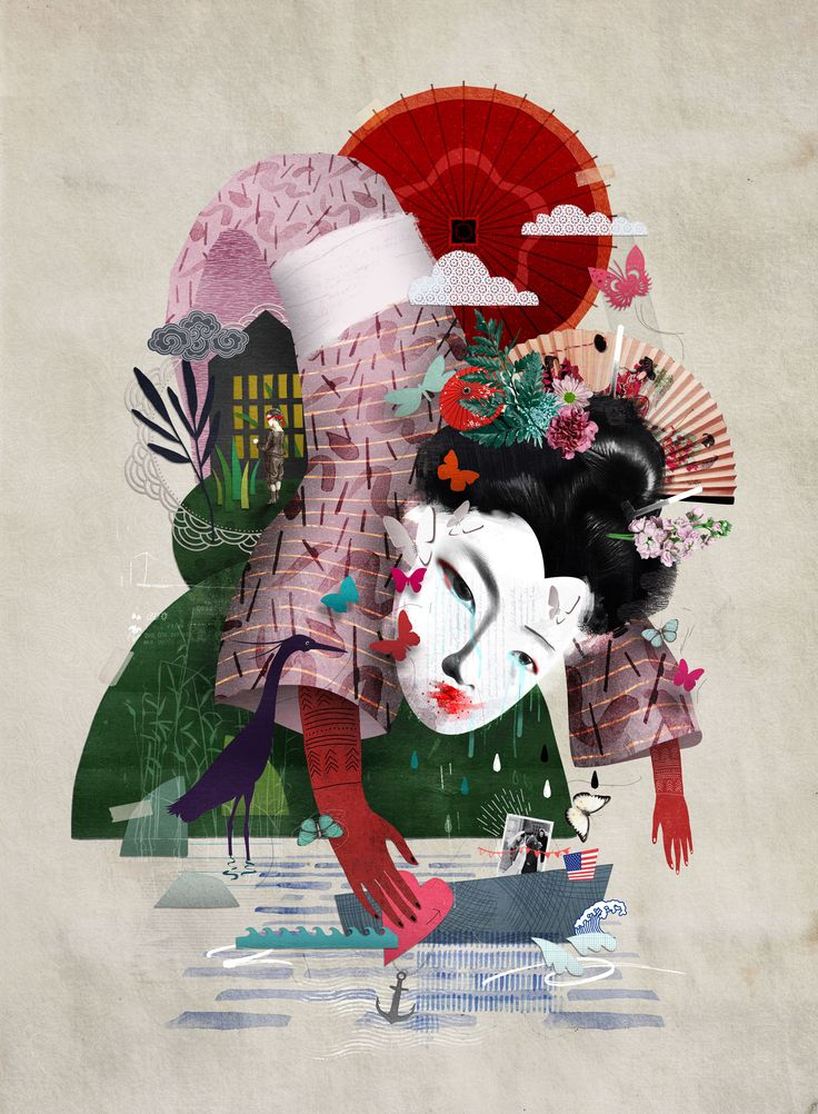 Caitlin Truman-Baker. Opera series. Madame butterfly