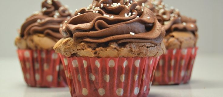 Buttercream de chocolate para cupcakes
