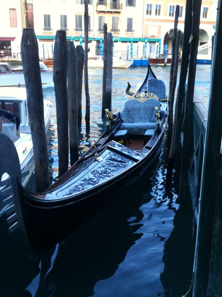 Gondole... Venice by my iPhone.