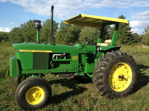 John Deere 4020.Introduced in 1963 and replaced by the 4230 in 1972