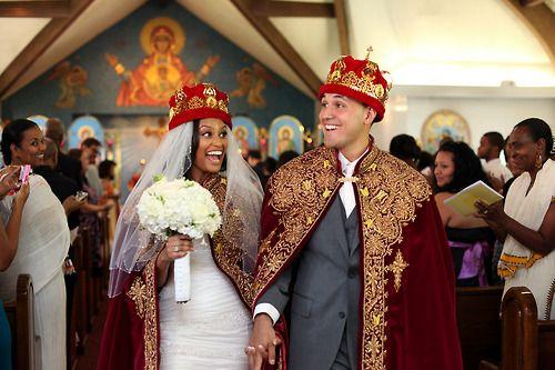 I loveeeee this!  Ethiopian wedding