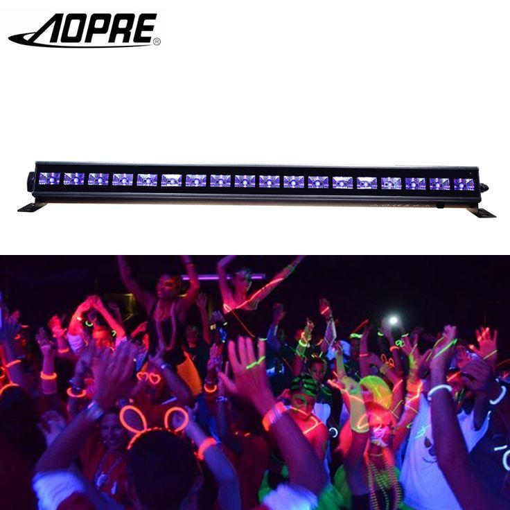 AOPRE UV LED Rondelle De Mur De Bar Lampe Pourpre LED Bar Parti UV Disco Club Lu…